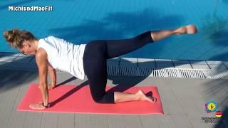 Gesäßmuskeltraining zur Härterung der Po-Muskulatur