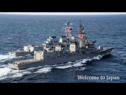"""""""North Korea"""" The US invincible fleet arrived in the Sea of Japan. Welcome to Japan"""