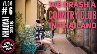 We Crash a Hi-So Resort in Thailand, the Toscana Valley Country Club Khao Yai