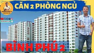 CHUNG CƯ BÌNH PHÚ 2 - CĂN 2 PHÒNG NGỦ ĐƯỢC THIẾT KẾ NHƯ THẾ NÀO | HOÀNG GIANG TV