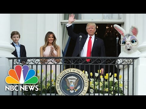 Thumbnail: Donald Trump, First Lady Melania Host First Easter Egg Roll At White House | NBC News