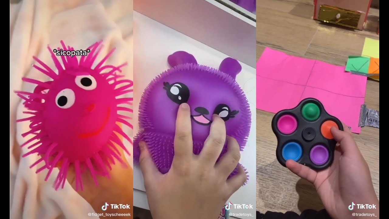 TikTokToys || Fidget Toys || Compilation || June