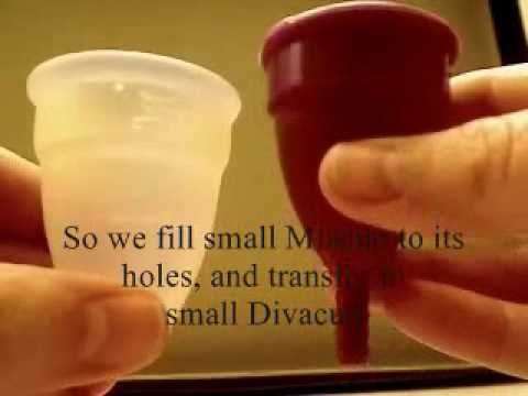 Menstrual cups flow capacity no sound youtube - A diva cup ...