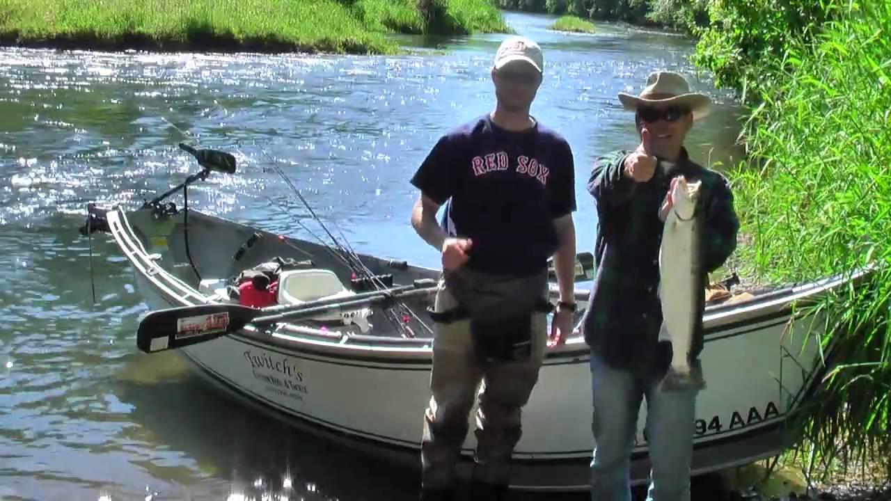 Summer steelhead fishing at the siletz river oregon youtube for Siletz river fishing report