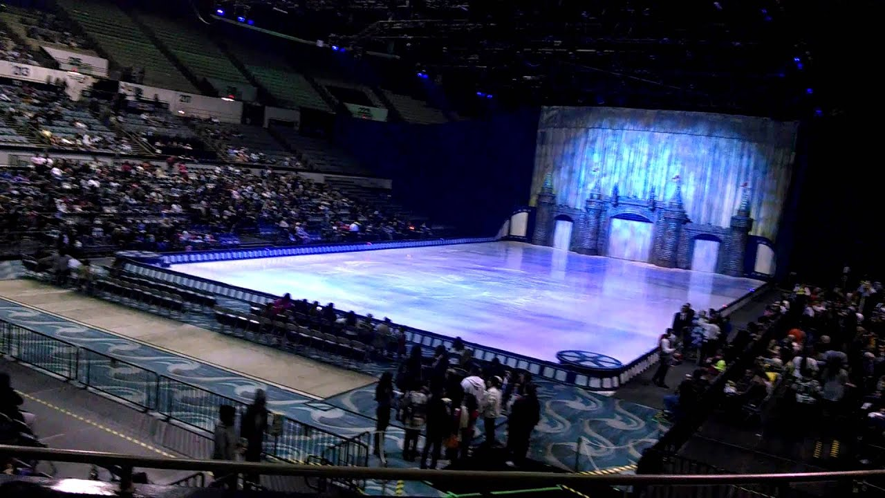 Disney On Ice Long Beach Arena 2014 Youtube