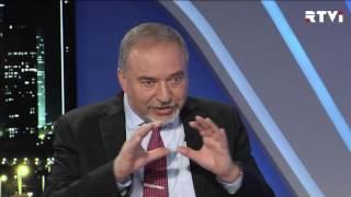 Авигдор Либерман в программе   Израиль за неделю  с Евгением Совой