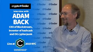 How will Bitcoin scale? Adam Back, CEO of Blockstream explains | Consensus 2019