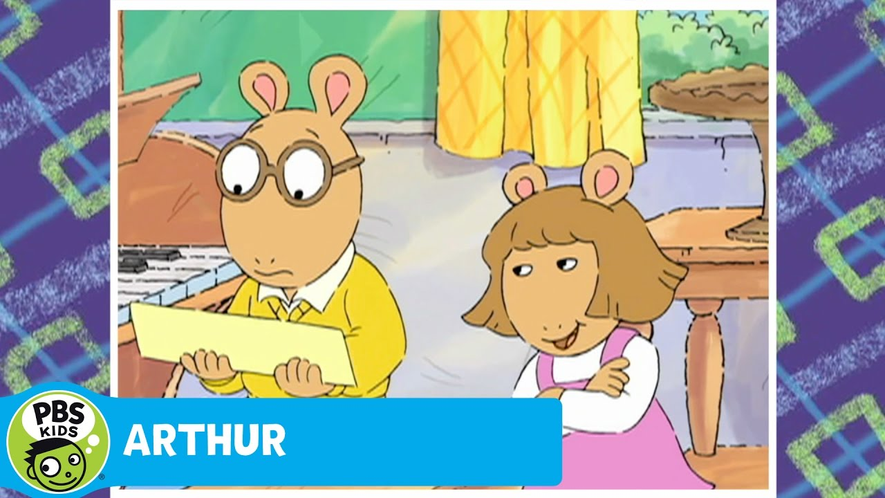 Arthur and D.w. My First Thank-yous