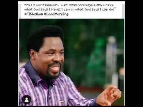 Here are 5 posts of Pastor TB Joshua that show he was giving clues/had a premonition about his death