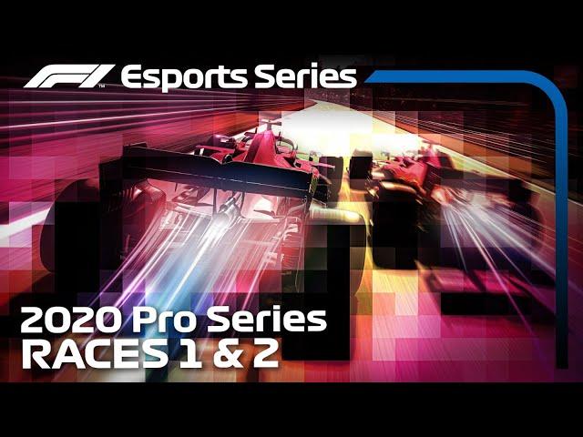 F1 Esports Pro Series 2020: Rounds 1 & 2 LIVE!
