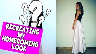 RECREATING MY HOMECOMING LOOK (A TAG!) // Grace Helbig