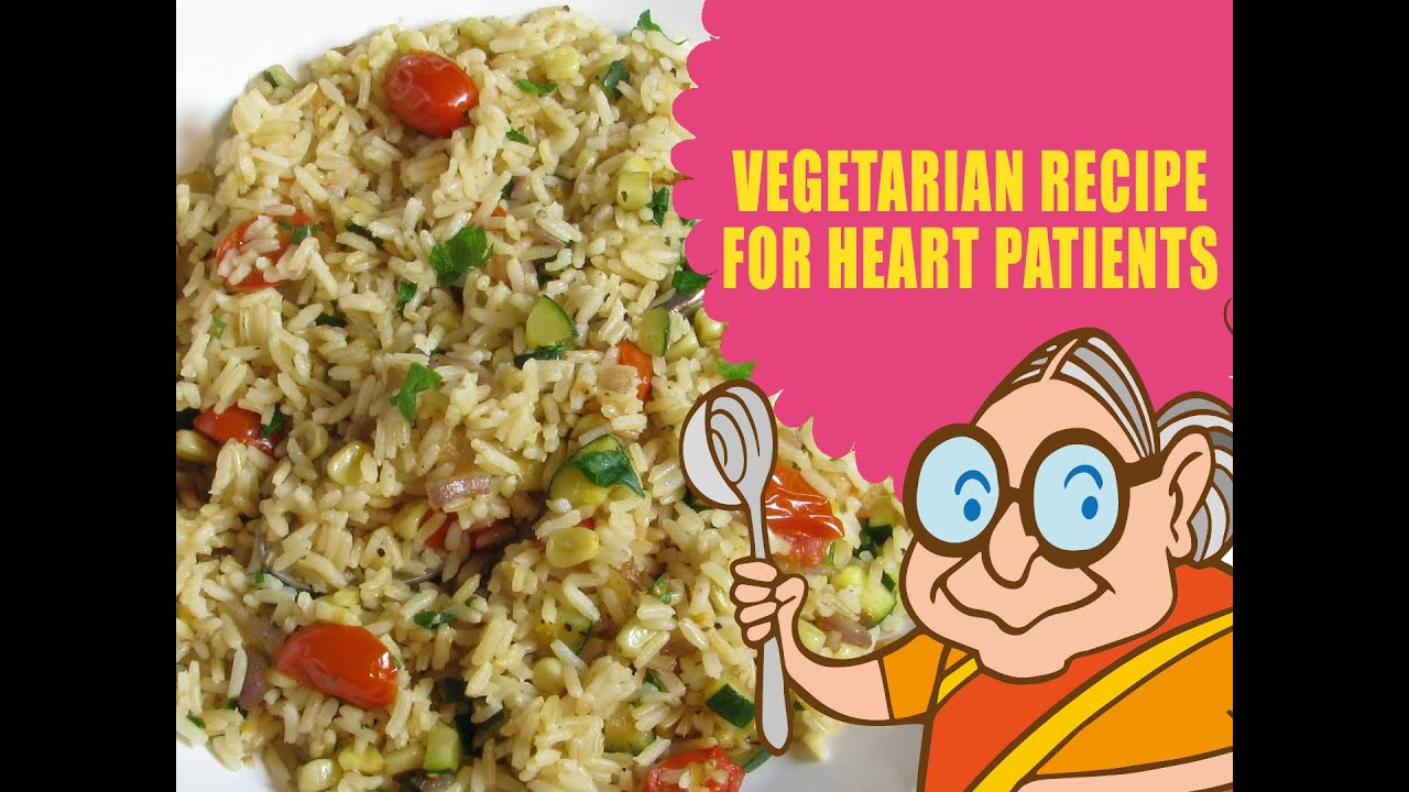 VEGETARIAN DIET FOR HEART PATIENTS
