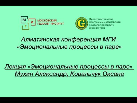Лекция Эмоциональные процессы в  паре, А.Мухин, О.Ковальчук
