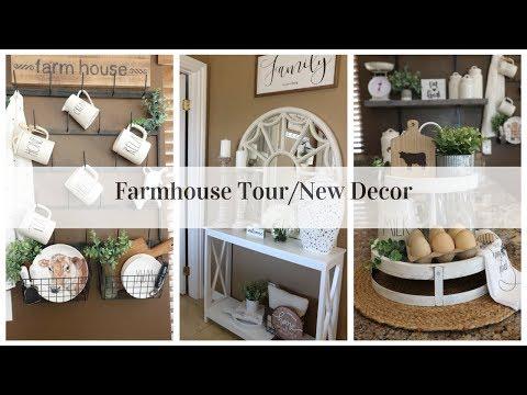 FARMHOUSE HOME TOUR (NEW DECOR & UPDATES)