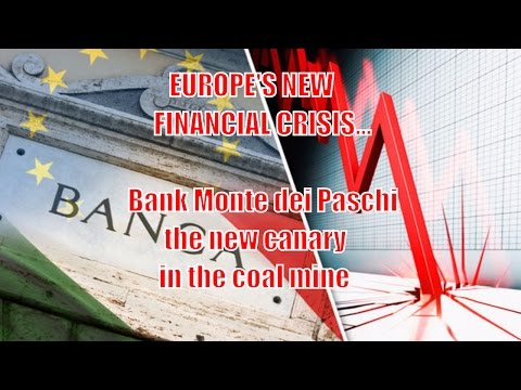 WARNING: The Next Lehman Brothers Collapse! - The Oldest Italian Bank teeters on brink of collapse.