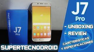 Unboxing y Review del Samsung Galaxy J7 Pro En Español