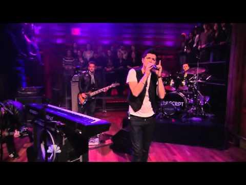 "The Script perform ""Breakeven"" live on Jimmy Fallon Show"