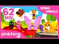 Animals and Bug Songs | +Compilation | Spring Songs | Pinkfong Songs for Children