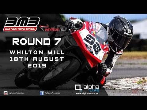 British Mini Bikes Round 7 2019 LIVE From Whilton Mill