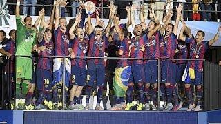 Juventus FC 1-3 FC Barcelona CHAMPIONS LEAGUE FINAL 2015 (AUDIO Alfredo Martinez, Onda Cero)