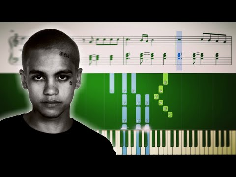 3 Nights - Dominic Fike - Piano Tutorial + SHEETS