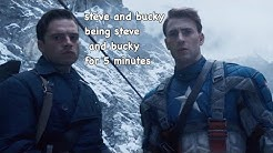 steve and bucky being steve and bucky for 5 minutes