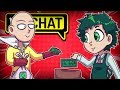 SAITAMA CHEERS UP DEKU IN VRCHAT! ONE PUNCH MAN (VRChat Funny Moments, Highlights, Compilations)