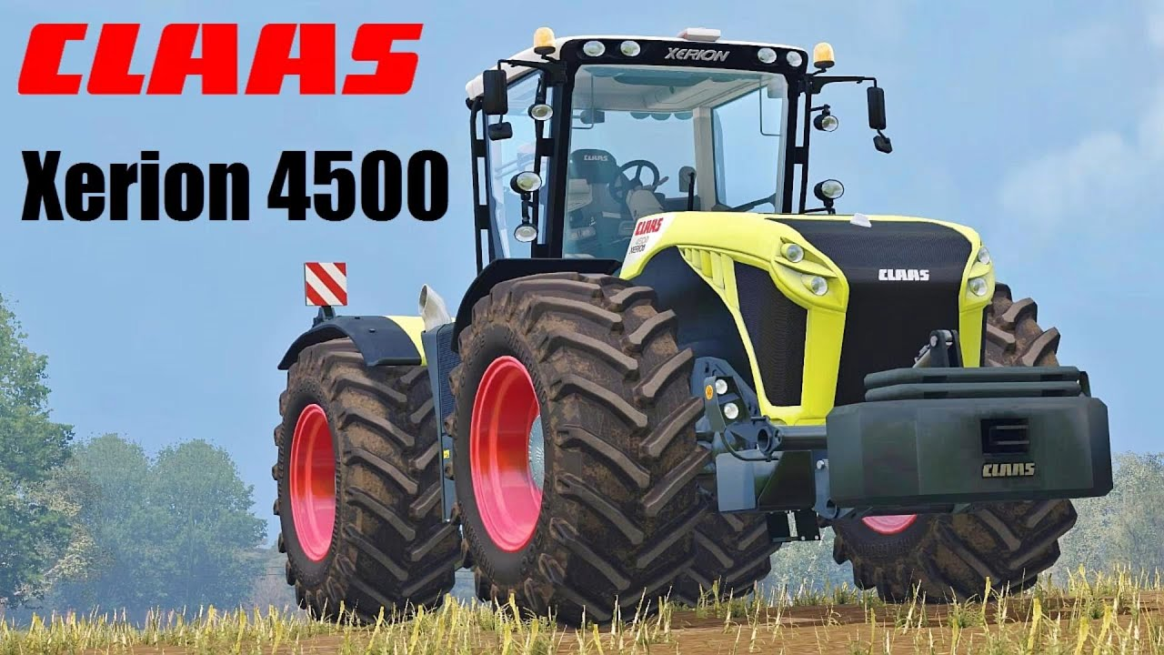 Farming simulator 15 presentazione claas xerion 4500 trac vc by cmt youtube