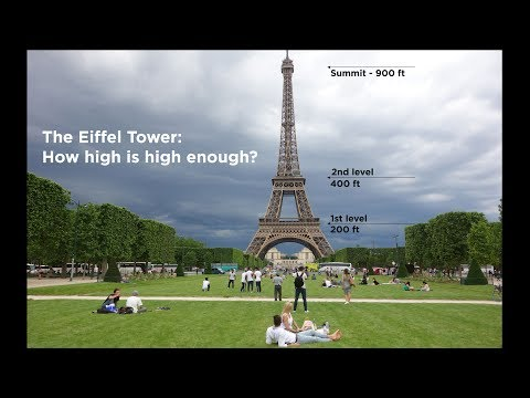 The Eiffel Tower: How High Do You Want to Go?