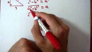 Teorema de Pitagoras - Obteniendo Cateto