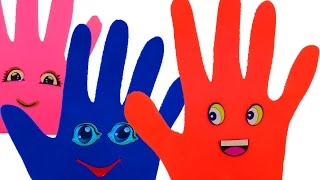 Развивающая песня Семья пальчиков Сборник Учим цвета на русском Пластилин для детей Плей до Play Doh