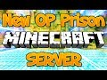 NEW OP PRISON MINECRAFT SERVER (FREE OP LIVE GIVEAWAY) 1.8/1.9/1.12.2/1.13.1 2018 [HD]