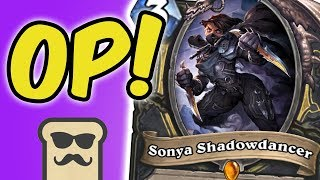 QUEST ROGUE IS BACK?! | SONYA SHADOWDANCER | KOBOLDS AND CATACOMBS | HEARTHSTONE | DISGUISED TOAST
