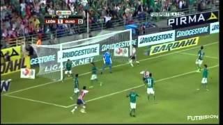 León vs Chivas Guadalajara 1-2 Jornada 8 Apertura 2012 Liga MX - Goles