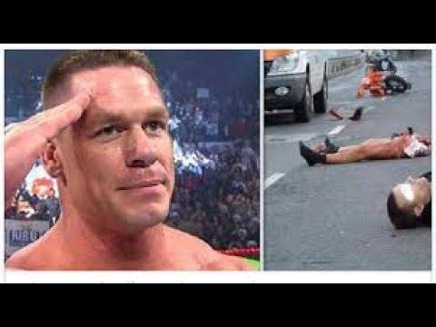 [Shocking Video] John Cena Died After Wrong Head Injury is ...  John Cena Dead