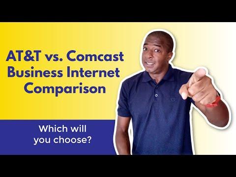 AT&T VS. Xfinity / Comcast (business Internet Comparison)