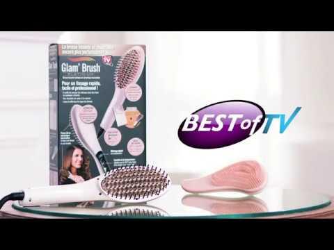 Vidéo Spot TV Glam Brush - Voix Off: Marilyn HERAUD