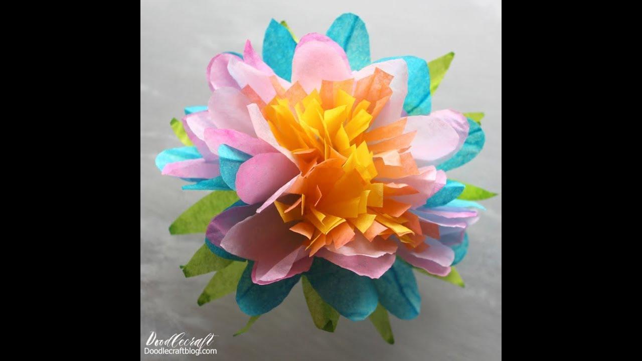 Spring bouquet coffee filter dyed flowers diy youtube spring bouquet coffee filter dyed flowers diy izmirmasajfo