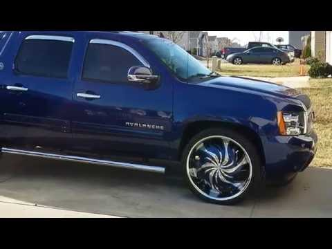 Upgrades For 2013 Chevy Avalanche/ 26 Inch Rims (Black Diamond)