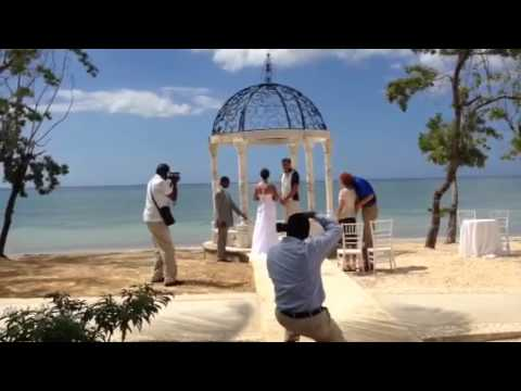Sandals Beach Wedding Whitehouse Jamaica