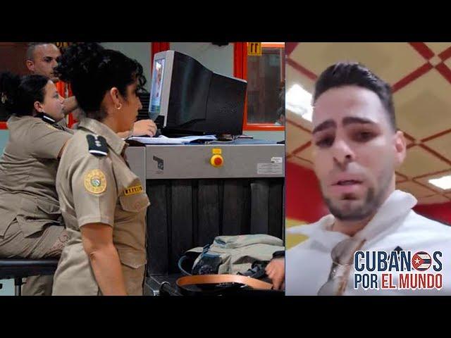 ¡SIN PALABRAS! Prohiben a un cubano entrar a Cuba por reclamar un televisor
