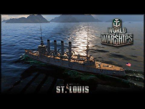World of Warships - USA: St. Louis [ deutsch | gameplay ]