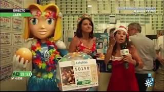 Lotalia en Andalucía Directo llegada de Lotería de Navidad 2017