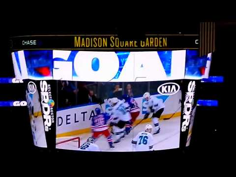 New York Rangers Score 2 Goals in 4 seconds.