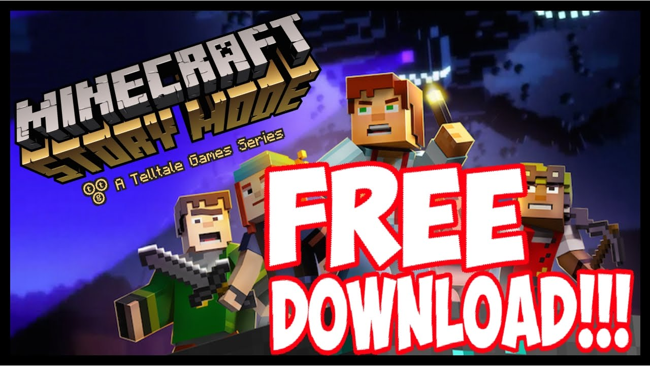 minecraft story mode free download youtube. Black Bedroom Furniture Sets. Home Design Ideas