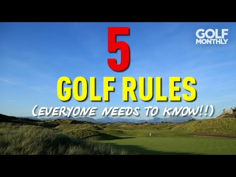 5 GOLF RULES (EVERYONE NEEDS TO KNOW!!)