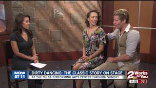Dirty Dancing the Classic Story on Stage actors stop by KJRH