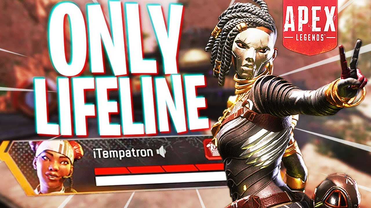ONLY Lifeline Could Pull This Off! - Apex Legends Season 6
