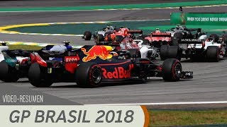 Resumen del GP de Brasil - F1 2018