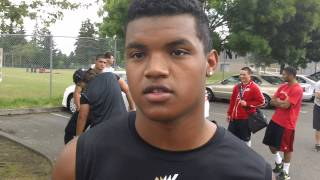 maleek irons wj mouat high school talks to dirk knudsen rivals pacific nw
